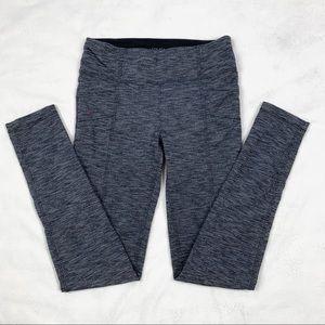 Athleta Girl's Full length Pocket Grey Leggings